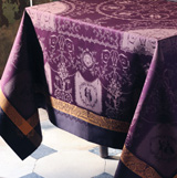 Garnier Thiebaut Bagatelle Velours Table Linens &#124; Gracious Style