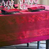 Garnier Thiebaut Comtesse Griotte Table Linens | Gracious Style