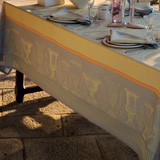 Garnier Thiebaut Flanerie Ondee Table Linens &#124; Gracious Style