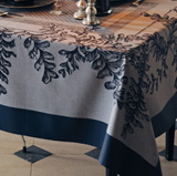 Garnier Thiebaut Fougeres Sureau Noir Table Linens &#124; Gracious Style
