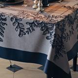 Garnier Thiebaut Fougeres Sureau Noir Table Linens | Gracious Style