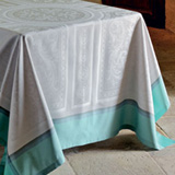 Garnier Thiebaut Jardin A La Francaise Table Linens | Gracious Style