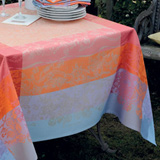 Garnier Thiebaut Jardin Extraordinaire Table Linens | Gracious Style