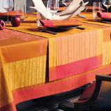 Garnier Thiebaut La Foret Ete Indien Table Linens &#124; Gracious Style