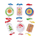 Assorted Candy Ornaments
