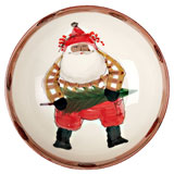 Vietri Multicultural Old St. Nick Holiday Dinnerware | Gracious Style