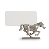 Horse Platinum Placecard Holders, Six