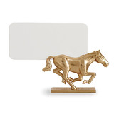 Horse Gold Placecard Holders, Six