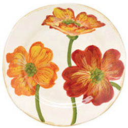 Poppy Hand Painted Dinnerware by Vietri | Gracious Style