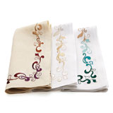 Kim Seybert Brocade Napkins &#124; Gracious Style