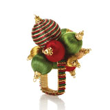 Kim Seybert Holiday Ornament Napkin Rings | Gracious Style