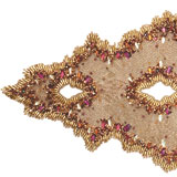 Spectrum Beaded Table Runner | Gracious Style