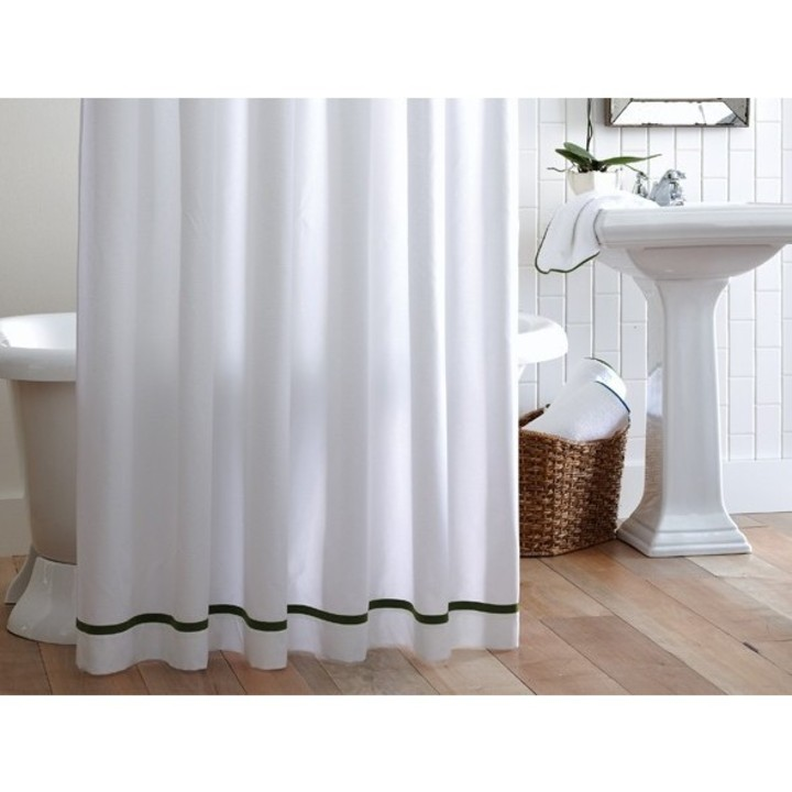 Peacock Alley Pique Tailored 72x72 Shower Curtain Gracious Style