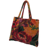 Provence Flowers Small Terry Tote Bag by Fresco | Gracious Style
