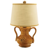 Amber Handled Mini Lamp by Vietri | Gracious Style