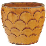 Scalloped Flower Pots by Vietri | Gracious Style