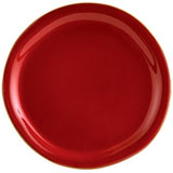 Rosso Vecchio Red Dinner Plate | Gracious Style