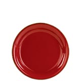 Rosso Vecchio Red Salad Plate | Gracious Style