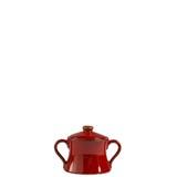 Rosso Vecchio Red Sugar Bowl | Gracious Style