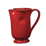 Rosso Vecchio Red Large Footed Pitcher | Gracious Style