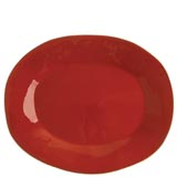 Rosso Vecchio Red Large Oval Platter | Gracious Style