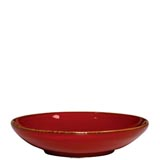 Rosso Vecchio Red Coupe Pasta Bowl | Gracious Style