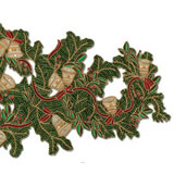 Holiday Bell Beaded Table Runner | Gracious Style
