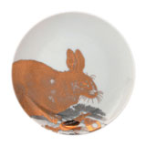 Rabbits Gold Canape Plates by Caskata | Gracious Style