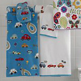 Race Track Bath Towels by Kassatex | Gracious Style