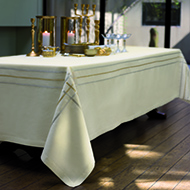 Rubans Nacre Table Linens