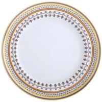 Chinoise Blue Large Dinner Plate 10.5 In | Gracious Style