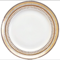Chinoise Blue Chop Plate 13 In | Gracious Style