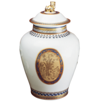 Chinoise Blue Ginger Jar Large  | Gracious Style