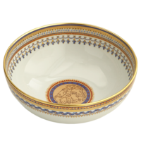 Chinoise Blue Round Bowl 8.5 In | Gracious Style