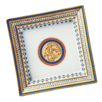 Chinoise Blue Square Tray Large  | Gracious Style