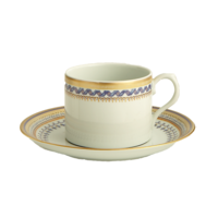 Chinoise Blue Tea Cup & Saucer  | Gracious Style