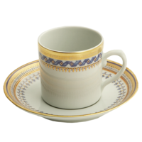 Chinoise Blue Demitasse Cup & Saucer  | Gracious Style