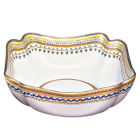 Chinoise Blue Large Square Bowl 9 In | Gracious Style