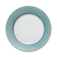 Green Lace Dessert Plate (Plain) 8.5 in | Gracious Style