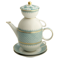 Green Lace Tea for Two  | Gracious Style