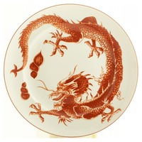 Mottahedeh Red Dragon Dinnerware | Gracious Style