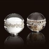 L'Objet Garland Platinum Salt & Pepper Shakers | Gracious Style
