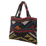 Santa Fe Gold Small Terry Tote Bag by Fresco | Gracious Style