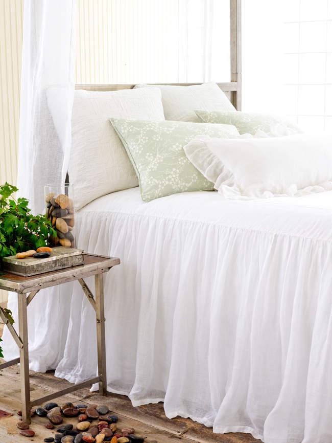 Pine Cone Hill Savannah Linen Gauze Bedspread Twin