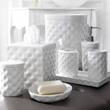 Savoy Bath Accessories by Kassatex | Gracious Style