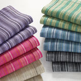Spectrum Stripe Napkins and Placemats | Gracious Style