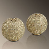 Salt and Pepper Shakers: Gold, Platinum, Swarovski Crystal | Gracious Style