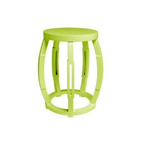 Bungalow 5 Taboret Green Stool / Side Table | Gracious Style