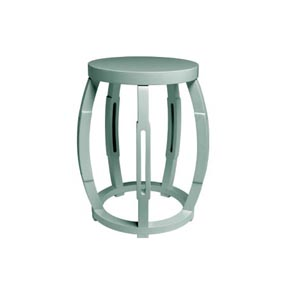 Bungalow 5 Taboret Light Blue Stool / Side Table | Gracious Style