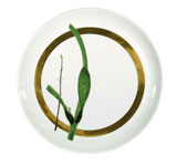Verdures Round Flat Cake Plate 12.2in | Gracious Style